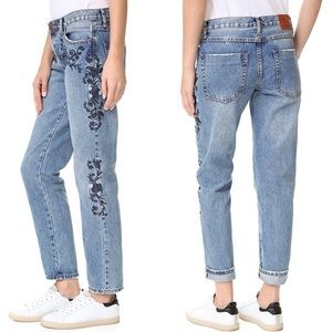 One Teaspoon Blue Muse Lola Awesome Baggies Jeans